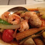 Another seafood dish - very good