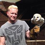 Me and barn owl dotty