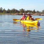 Our tandem kayak