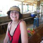 Bahama Mamas and great views.