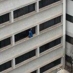 Hotel next door - cleaning windows - No WPHS here!
