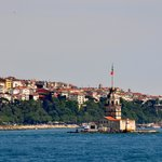 Maiden's Tower, just off the coast of Uskudar (Istanbul)