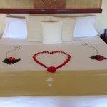 A honeymoon welcome!