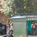 Train bandits on the Calico Railroad