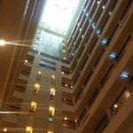 インペリアルホテル台北:ロビーの吹き抜け
