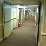 インペリアルホテル台北:廊下