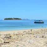 View of Beachcomber island from Tresure