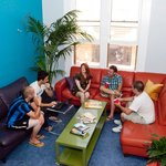 Our lounge is a grea place to hang out after a long day of sightseeing.