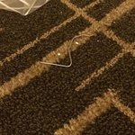 nail on the floor that nobody cleaned up on that night