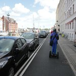Riding our Segway's in Nyhavn
