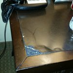 more damaged furniture