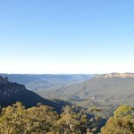 View from the Scenic World Cafe