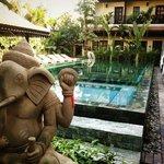 Very swimming pool & views