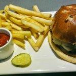 Burger With Regular Fries