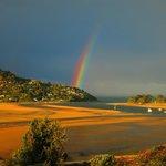 Rainbow over Paku
