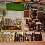 wide range of chocolate truffles