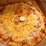 Large Cheese Pizza- delicious