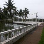 resort overlooking lake