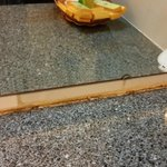 Mold and mildew on countertop