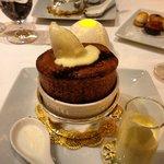 and dessert