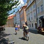 Easy ride through Mala Strana