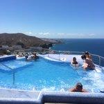 The hot tub amazing views