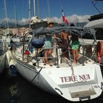 Tere Nui the family boat