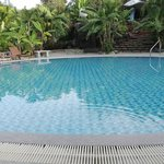 Cold water pool - not hot water