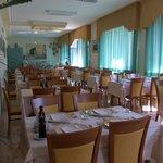 une partie de la salle du restaurant