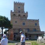 visite de la tour de cerrano avec le patron