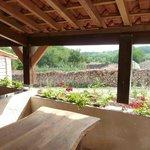 Vue de terrasse couverte