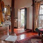 Romantic Suite Sultana - Open plan bed/bathroom