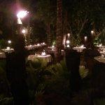 Dinner at night