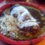 Pork Chili Verde Burrito