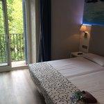 Lovely room at Hostal Boqueria