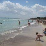 Пляж во всей красе