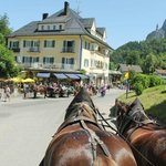 Horse and carriage ride from Neuschwanstein