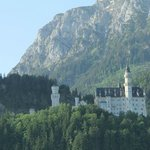 Our first view of Neuschwanstein