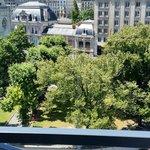 Vue depuis l'hôtel ibis Styles Genève Gare