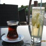 Drink i herbata w barze