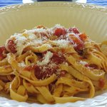 pasta and sauce from scratch
