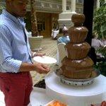 Dessert- chocolate fountain