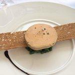 Foie Gras Terrine with Green Pepper