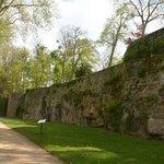 Vue des remparts du château