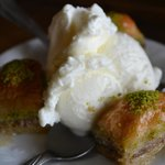 Baklava & Ice Cream