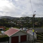 View from Kelburn near the top of Wellington Cable Car