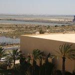 widok z dachu hotelu