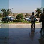 widok z hotelu od frontu