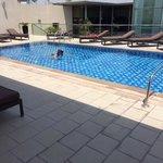 Roof Top Swimming Pool.
