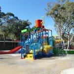 The children's pool area